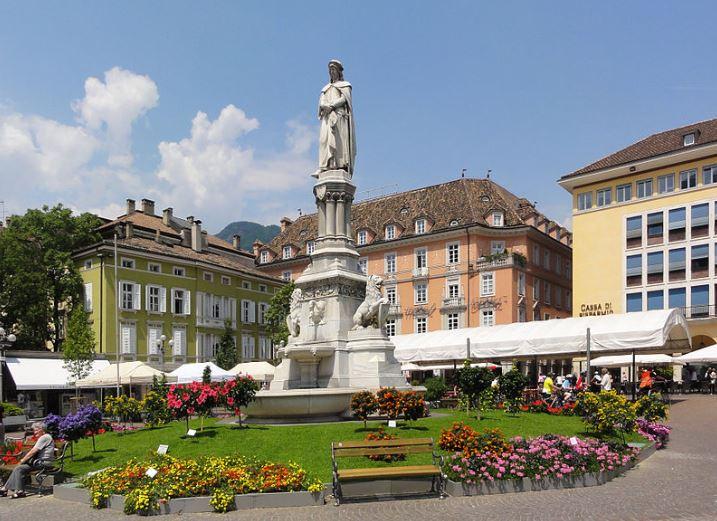 Bolzano-hlavní náměstí