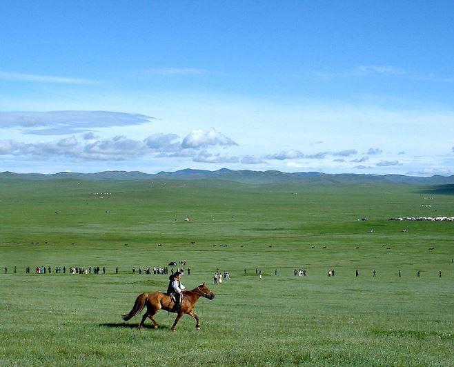 Mongolská step