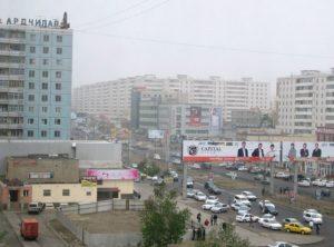 Obytná část Ulánbátaru