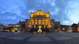 La place Gendarmenmarkt Berlin