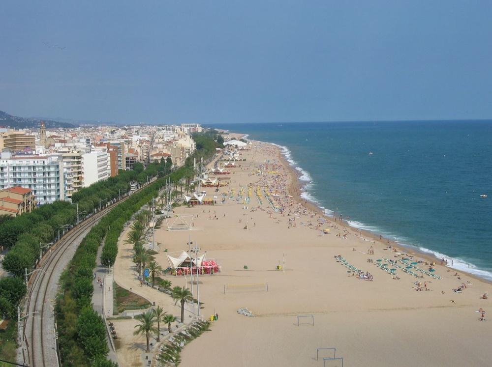 Pláž Calella