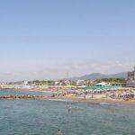 Italské městečko Marina di Massa