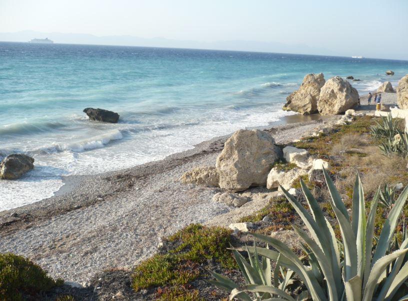 Rhodos pláž