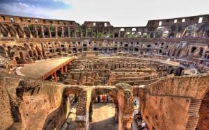 Řím Colosseum