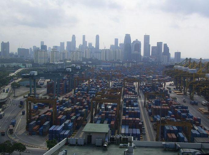 Singapur - přístav